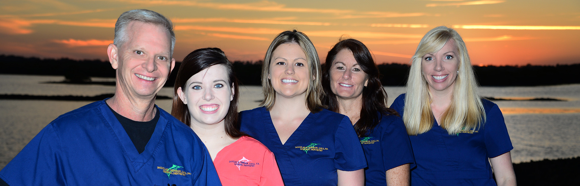 Daytona Dentist Dr. Douglas Denison and his Office Staff